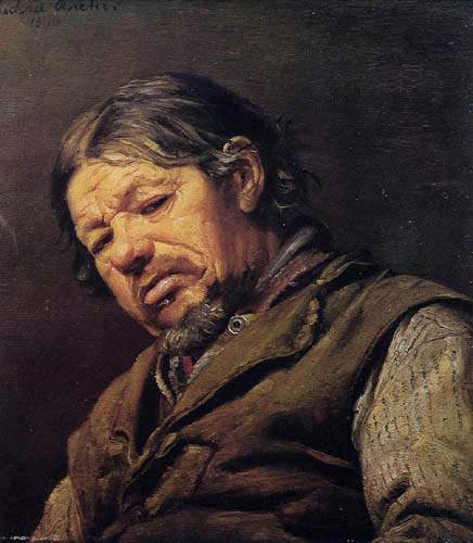 Michael Ancher - The Fisher Lars Gaihede