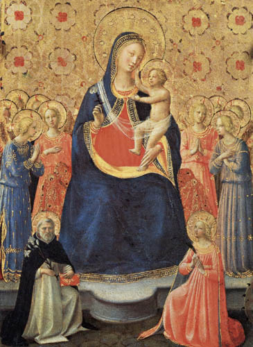 Fra Angelico (Fra Giovanni da Fiesole) - Madonna with the child