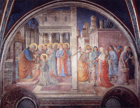 Fra Angelico (Fra Giovanni da Fiesole) - The Lustration of St. Stephen