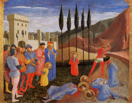 Fra Angelico (Fra Giovanni da Fiesole) - The Martyrdom of Saint Cosmas and Damian