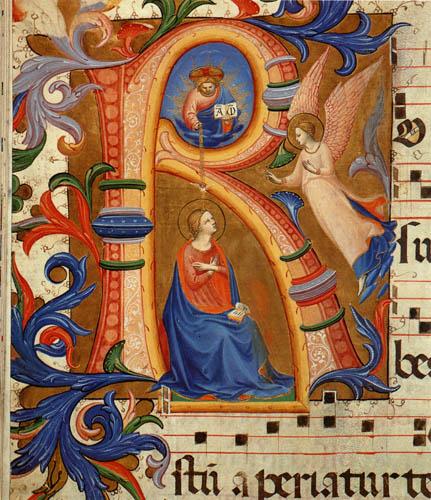 Fra Angelico (Fra Giovanni da Fiesole) - Verkündigung an Maria