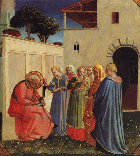 Fra Angelico (Fra Giovanni da Fiesole) - The Naming of John