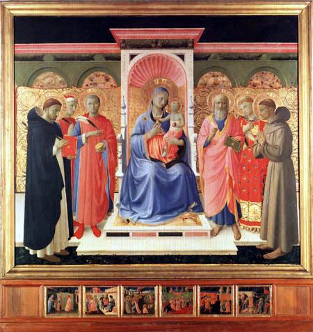 Fra Angelico (Fra Giovanni da Fiesole) - Pala von Annalena
