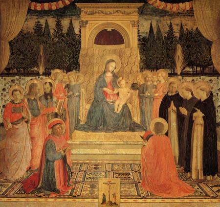 Fra Angelico (Fra Giovanni da Fiesole) - Pala von San Marco