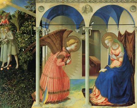 Fra Angelico (Fra Giovanni da Fiesole) - Annunciation