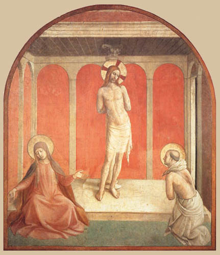 Fra Angelico (Fra Giovanni da Fiesole) - Jesus at the Column