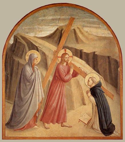 Fra Angelico (Fra Giovanni da Fiesole) - Cruciferous Christ