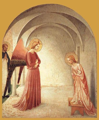 Fra Angelico (Fra Giovanni da Fiesole) - Verkündigung
