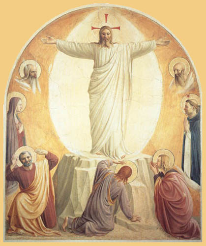 Fra Angelico (Fra Giovanni da Fiesole) - Verklärung Christi