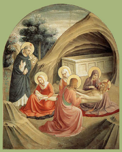 Fra Angelico (Fra Giovanni da Fiesole) - Piety