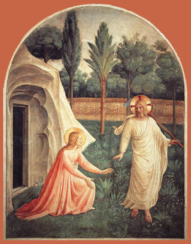 Fra Angelico (Fra Giovanni da Fiesole) - Jesus Christ as a gardener