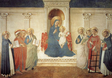 Fra Angelico (Fra Giovanni da Fiesole) - Madonna