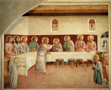 Fra Angelico (Fra Giovanni da Fiesole) - Last Supper