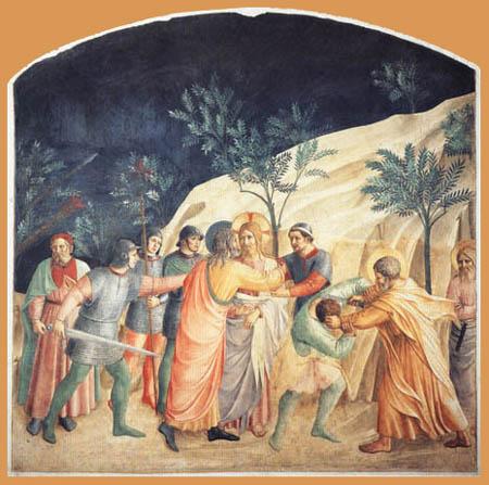Fra Angelico (Fra Giovanni da Fiesole) - Captura de Cristo