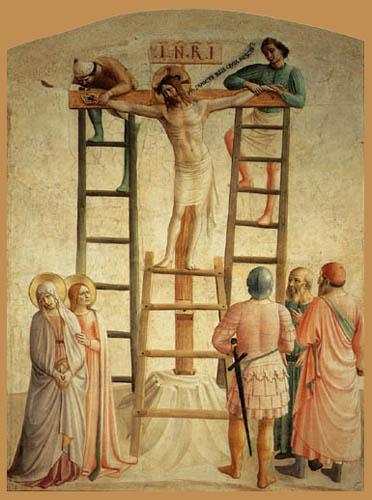 Fra Angelico (Fra Giovanni da Fiesole) - Kreuzannagelung