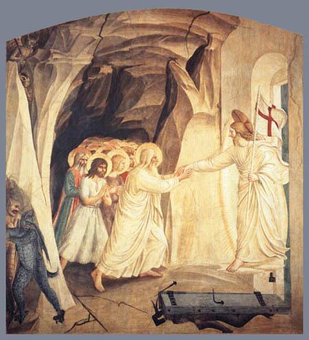 Fra Angelico (Fra Giovanni da Fiesole) - Christus in der Vorhölle