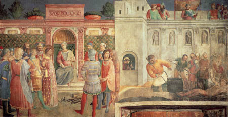 Fra Angelico (Fra Giovanni da Fiesole) - History of St. Lawrence