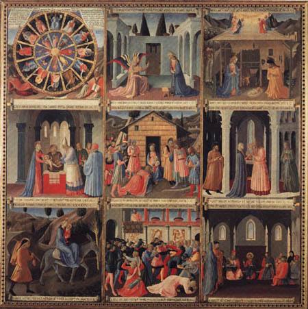 Fra Angelico (Fra Giovanni da Fiesole) - Armadio degli agenti
