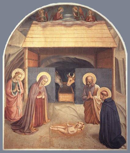 Fra Angelico (Fra Giovanni da Fiesole) - Geburt Christi