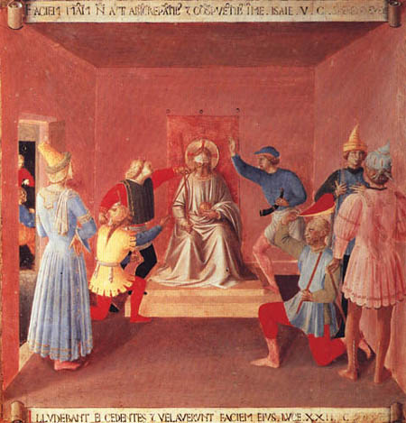 Fra Angelico (Fra Giovanni da Fiesole) - Armadio- Blot of Jesus Christ