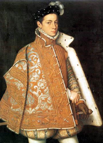 Sofonisba Anguissola - Portait of Alexander Farnese