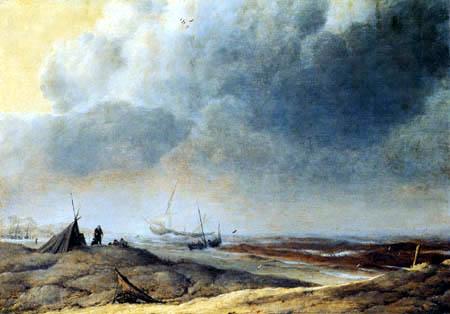 Hendrick van Anthonissen - On the Beach