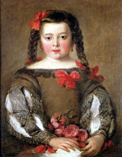 José Claudio Antolínez - Portrait of a girl