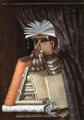 Giuseppe Arcimboldo (Arcimboldi) - Der Bibliothekar