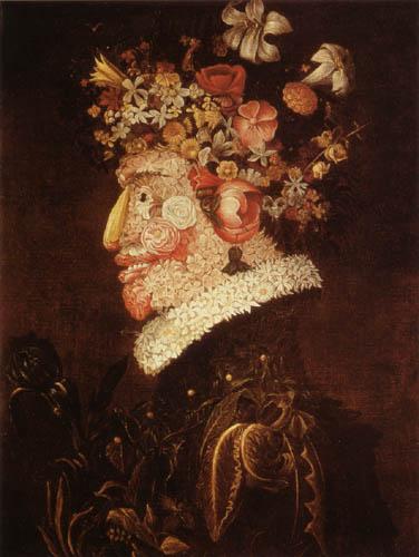 Giuseppe Arcimboldo (Arcimboldi) - Der Frühling