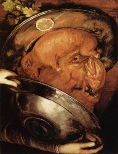 Giuseppe Arcimboldo (Arcimboldi) - The Cook