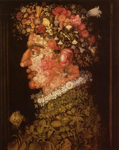 Giuseppe Arcimboldo (Arcimboldi) - The Spring
