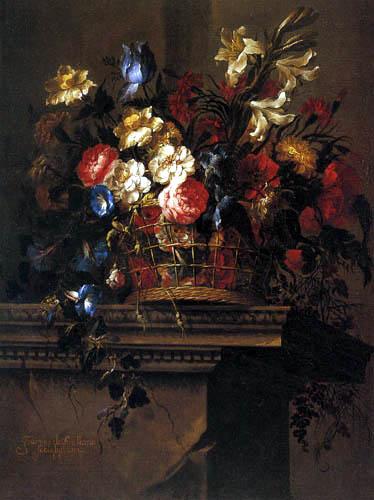 Juan de Arellano - Flower still life