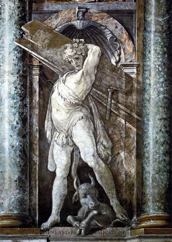 Cavaliere d´ Arpino (Giuseppe Cesari) - Die Arbeit