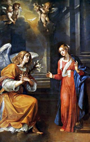 Cavaliere d´ Arpino (Giuseppe Cesari) - Annunciation