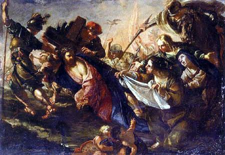 Gioacchino Assereto - Christus auf dem Weg zum Kalvarienberg