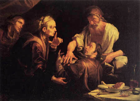 Gioacchino Assereto - The blessing of Jacob