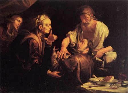 Gioacchino Assereto - Die Segnung Jakobs