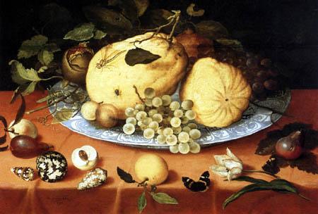 Balthasar van der Ast - Stillleben mit Weintrauben
