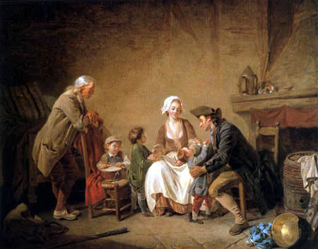 Étienne Aubry - Fatherly love