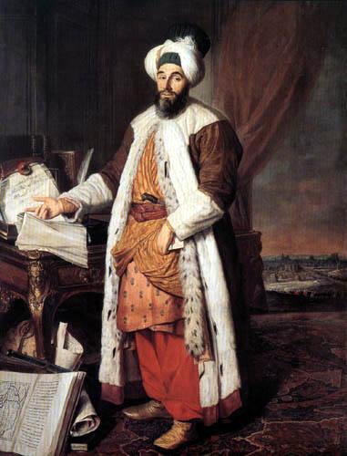 Jacques André Joseph Aved - Pasha Mehmed Said