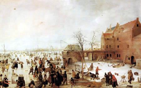 Hendrik Avercamp - A Winter Landscape