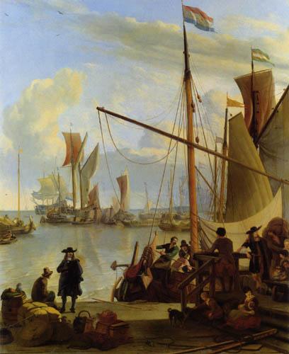 Ludolf Backhuysen (Backhuisen) - Amsterdam