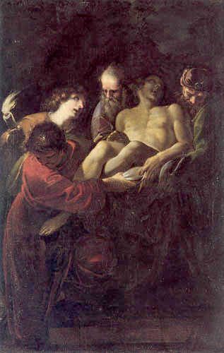 Sisto Badalocchio - The Entombment