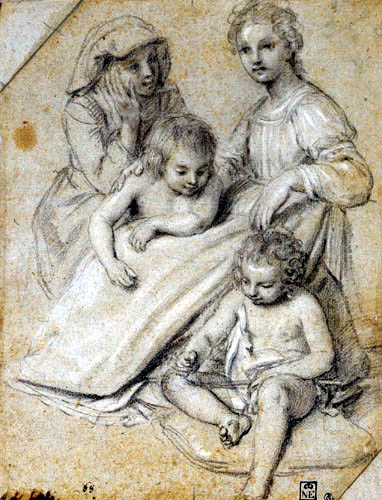 Giovanni Baglione - Maria with Child and Saints