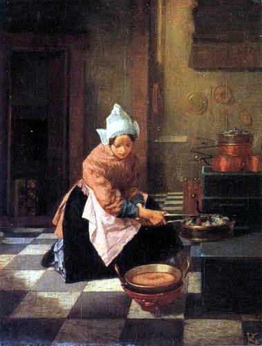 Alexander Hugo Bakker Korff - The wafflebaker