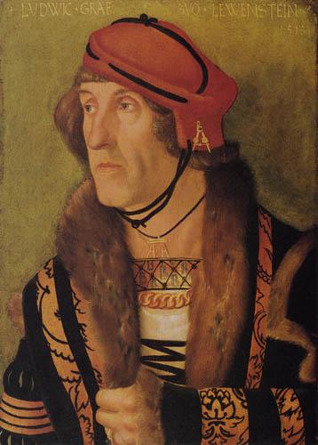 Hans Baldung, genannt Grien - Ludwig Graf zu Löwenstein
