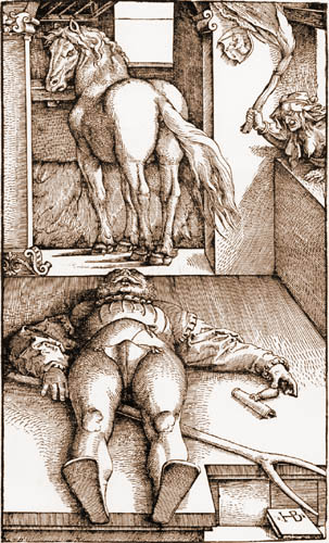 Hans Baldung, called Grien - The ensorcelled Groom