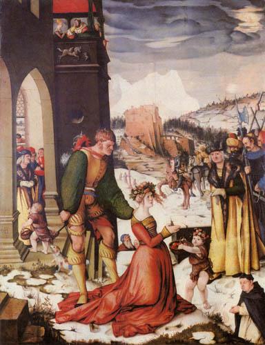 Hans Baldung, genannt Grien - Enthauptung der hl. Dorothea