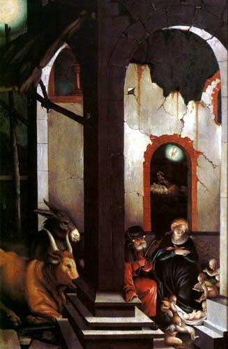Hans Baldung, genannt Grien - Die Geburt Christi