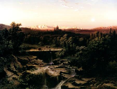 Fritz Bamberger - Der Escorial und die Sierra de Guadarrama